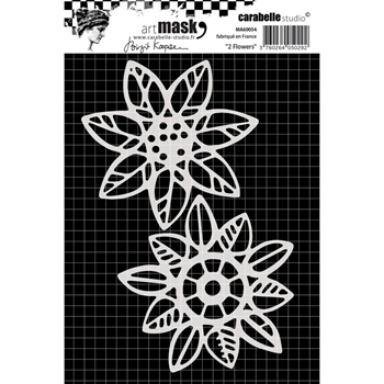 Carabelle Studio 2 FLOWERS Mask Stencil MA60054