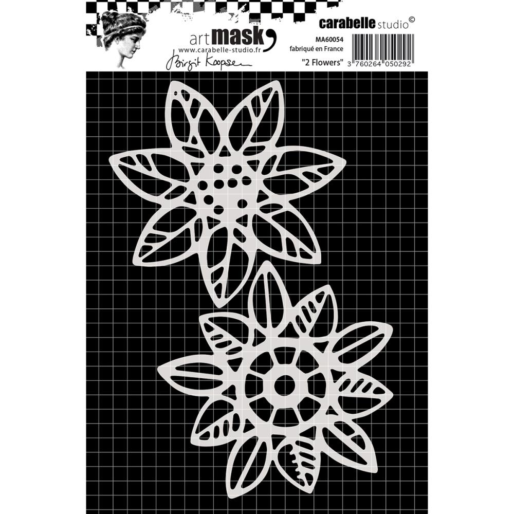 Carabelle Studio 2 FLOWERS Mask Stencil MA60054 zoom image