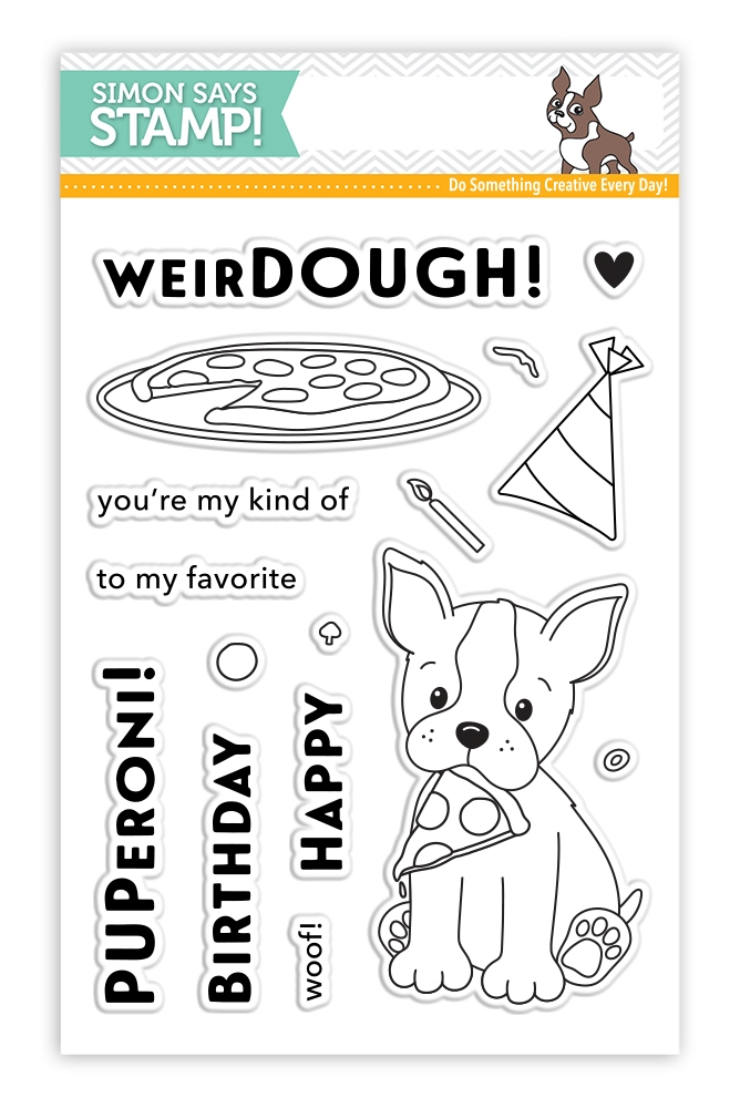 Simon Says Clear Stamps FAVORITE PUPERONI SSS101737 zoom image