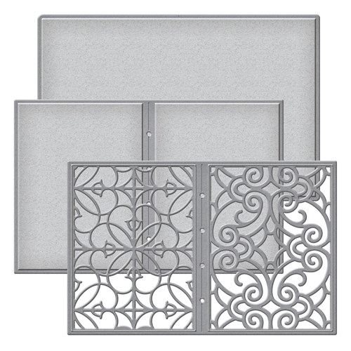 S5-289 Spellbinders Becca Feeken FILIGREE BOOKLET Etched Dies Preview Image