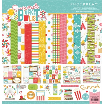 PhotoPlay SUMMER BUCKET LIST 12 x 12 Collection Pack BL2565