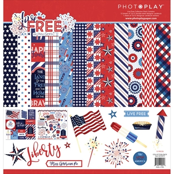 PhotoPlay LIVE FREE 12 x 12 Collection Pack LF2579