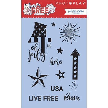 PhotoPlay LIVE FREE Clear Stamps LF2581