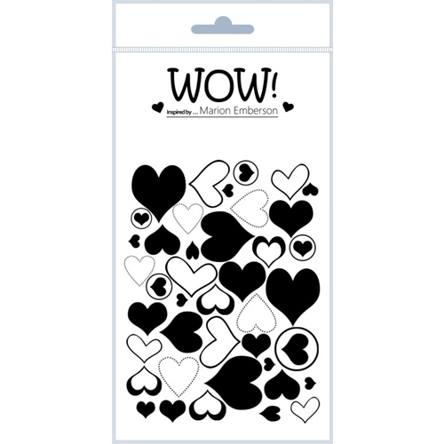 WOW Stamps for Embossing J'ADORE Clear Stamp Set STAMPSET46 Preview Image