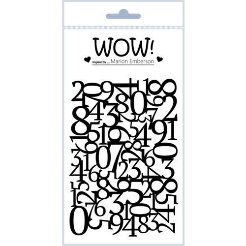 WOW Stamps for Embossing GO FIGURE Clear Stamp Set STAMPSET45 Preview Image