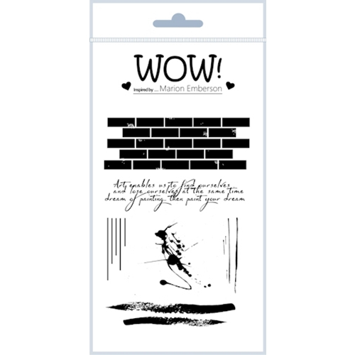 WOW Stamps for Embossing WALL ART Clear Stamp Set STAMPSET44 Preview Image