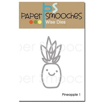 Paper Smooches PINEAPPLE 1 Wise Dies A1D379