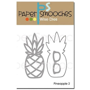Paper Smooches PINEAPPLE 2 Wise Dies A1D380