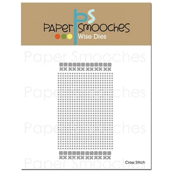 Paper Smooches CROSS STITCH Wise Dies A1D376