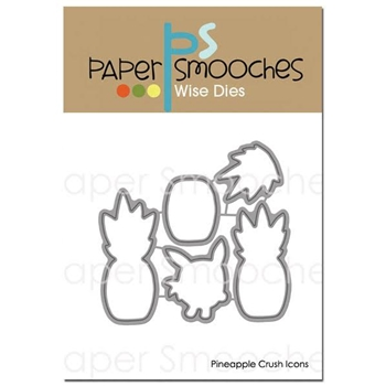 Paper Smooches PINEAPPLE CRUSH ICONS Wise Dies A1D378
