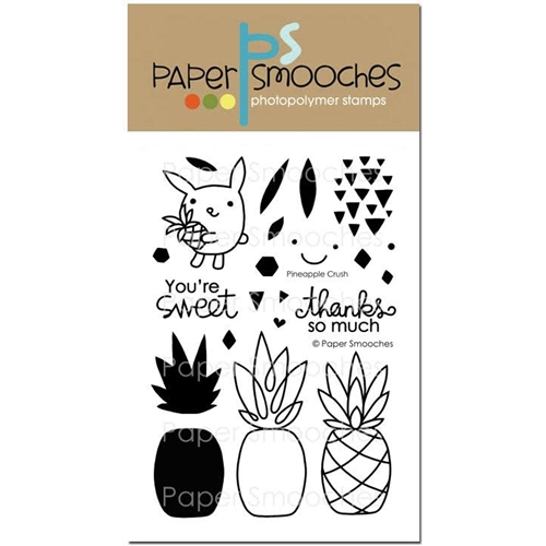 Paper Smooches PINEAPPLE CRUSH Clear Stamps A1S282 Preview Image