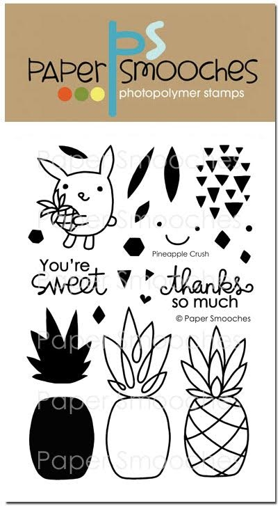 Paper Smooches PINEAPPLE CRUSH Clear Stamps A1S282 zoom image