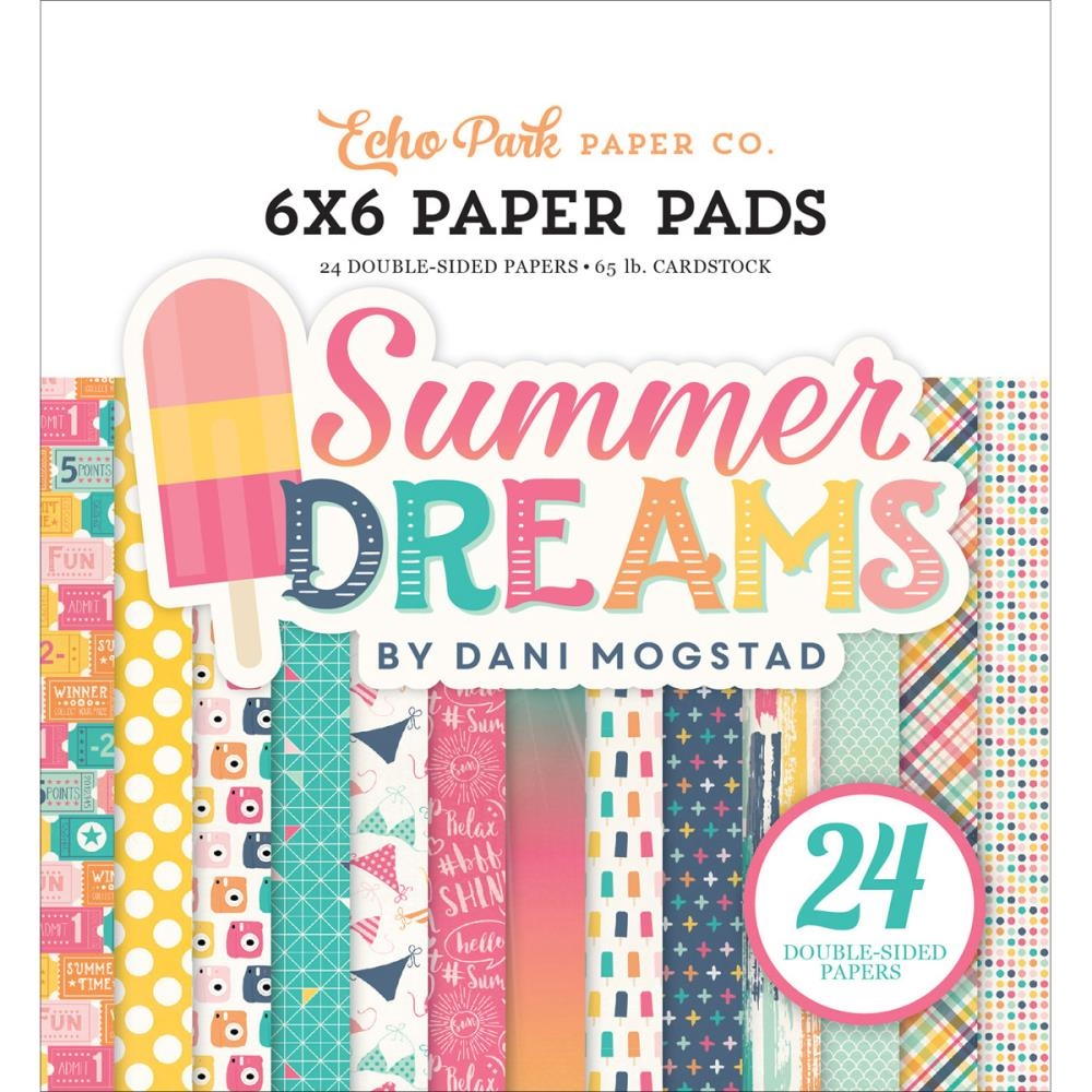 Echo Park Summer Dreams 6x6 Papers