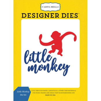 Carta Bella LITTLE MONKEY Dies Set CBTB66040