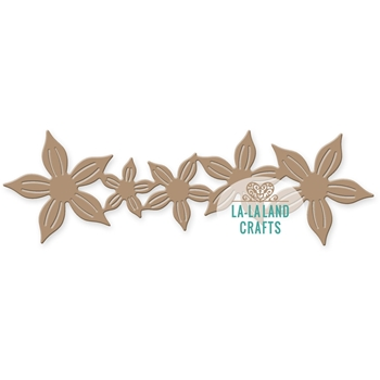 La-La Land Crafts POINTY FLOWER BORDER Die 8288
