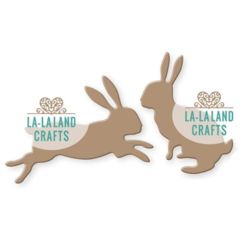 La-La Land Crafts BUNNIES Die Set 8304
