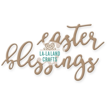 La-La Land Crafts EASTER BLESSINGS Die Set 8290