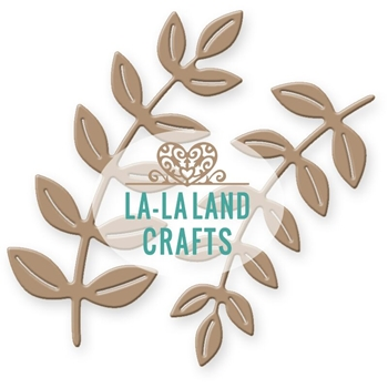 La-La Land Crafts TWO BRANCHES Die Set 8289