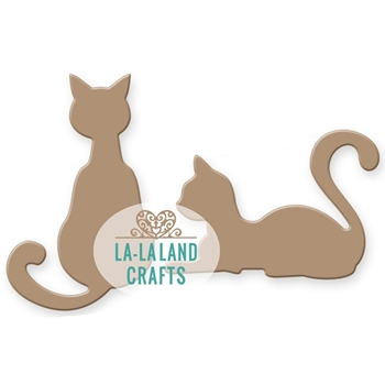 La-La Land Crafts CATS Die Set 8303
