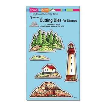 Stampendous BUILD A LIGHTHOUSE DIE CUT SET DCS5098