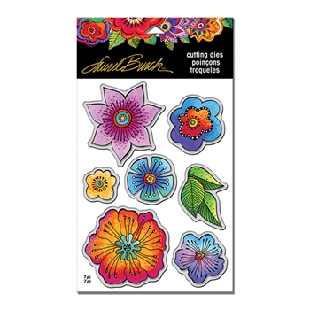 Stampendous BLOSSOMS DIE CUT SET Laurel Burch LBDCS05