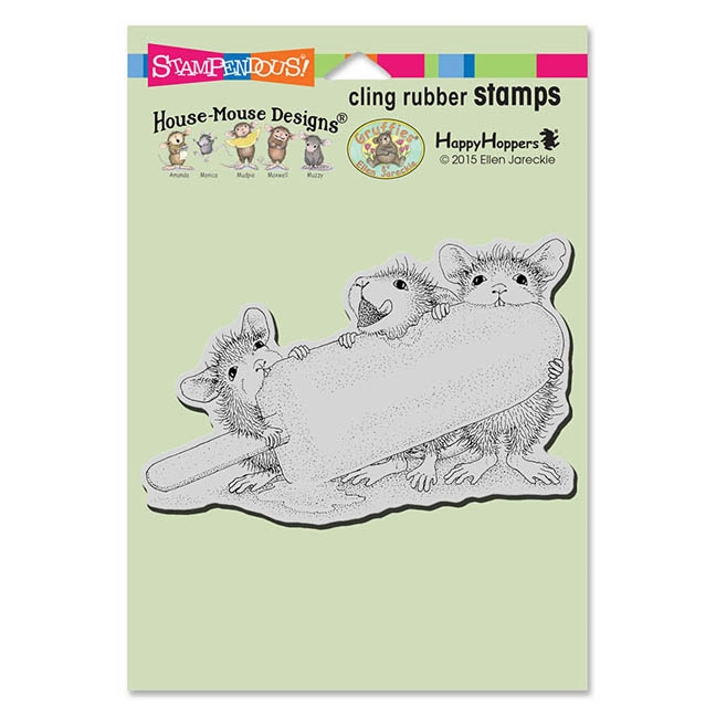 Stampendous, House Mouse, Ice Pop Treat Cling Stamp