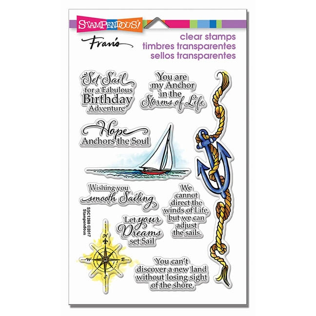 Stampendous Clear Stamps NAUTICAL ANCHOR SSC1261* zoom image