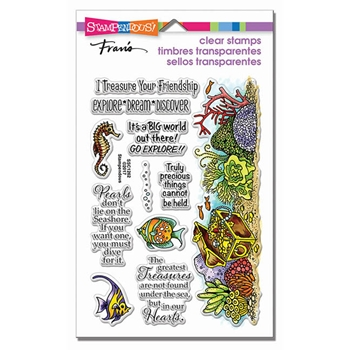 Stampendous Clear Stamps NAUTICAL TREASURE SSC1262