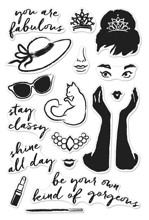 Hero Arts Clear Stamps YOU ARE FABULOUS CM159 zoom image