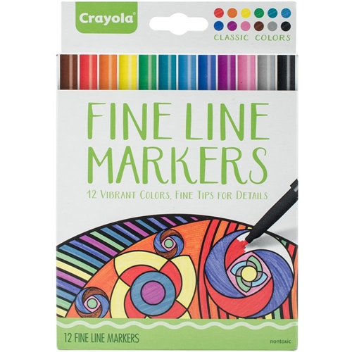 Crayola CLASSIC COLORS Fine Line Marker Set 587713 Preview Image