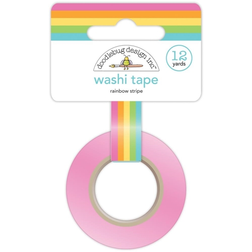 Doodlebug RAINBOW STRIPE Fairy Tales Washi Tape 4546 Preview Image