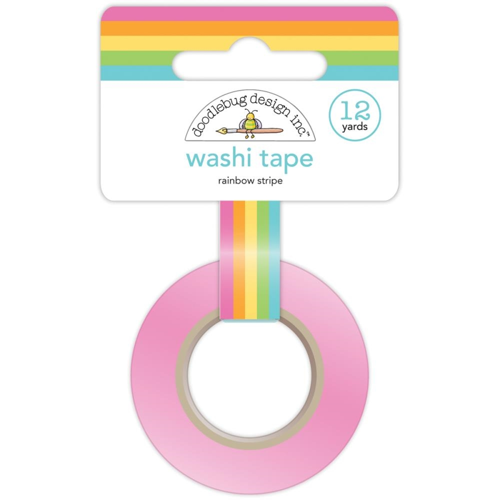 Doodlebug RAINBOW STRIPE Fairy Tales Washi Tape 4546 zoom image