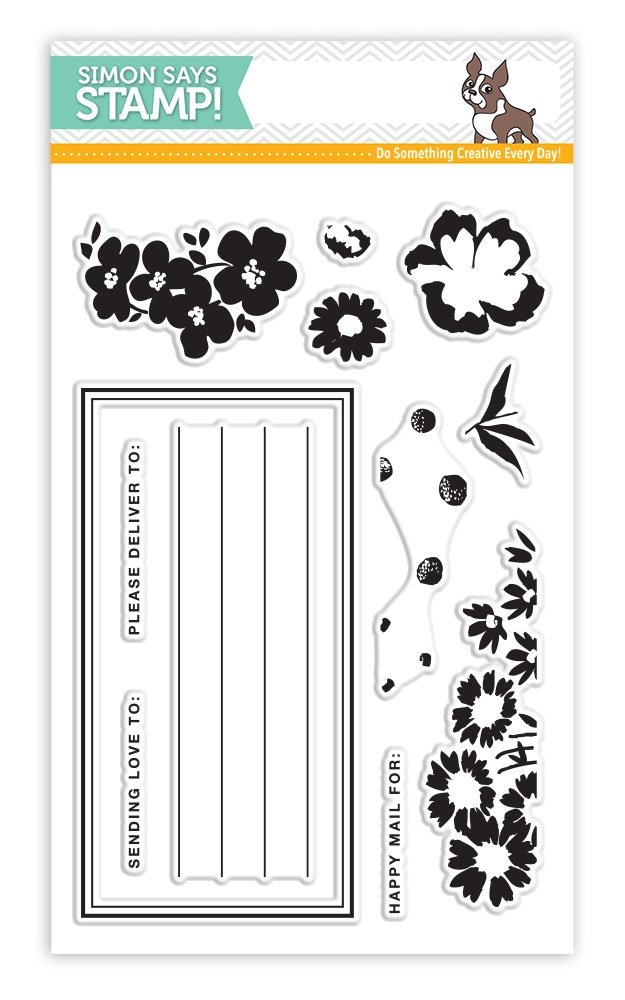 Simon Says Clear Stamps SENDING FLOWERS SSS101734 Mothers Fathers Florals zoom image