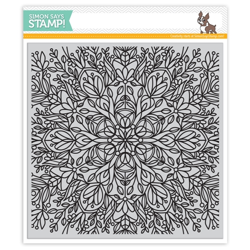 Simon Says Cling Rubber FLORA BACKGROUND SSS101735 Mothers Fathers Florals Preview Image
