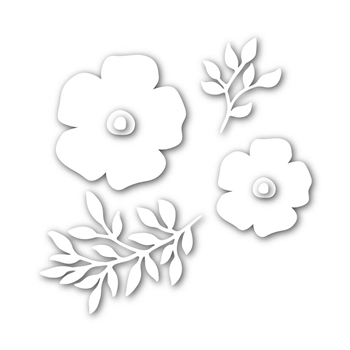 Simon Says Stamp FORGET ME NOT FLOWERS Wafer Dies SSSD111703 Mothers Fathers Florals