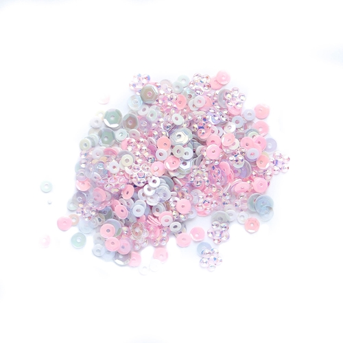 Simon Says Stamp LITTLE PRINCESS Sequins LPS0417 Mothers Fathers Florals Preview Image