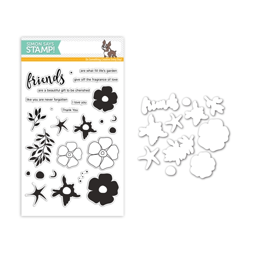 Simon Says Stamps And Dies FRIENDS OF LIFE Set295FL Mothers Fathers Florals Preview Image
