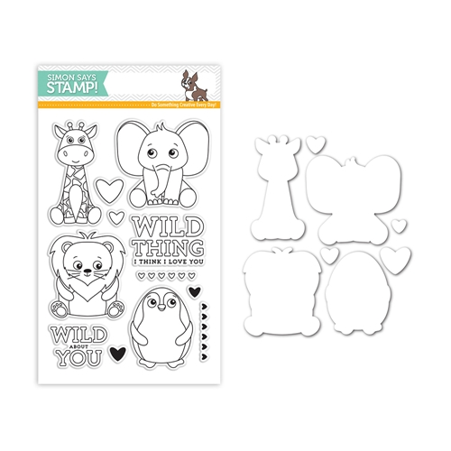 Simon Says Stamps And Dies WILD ABOUT YOU Set296WY Mothers Fathers Florals Preview Image