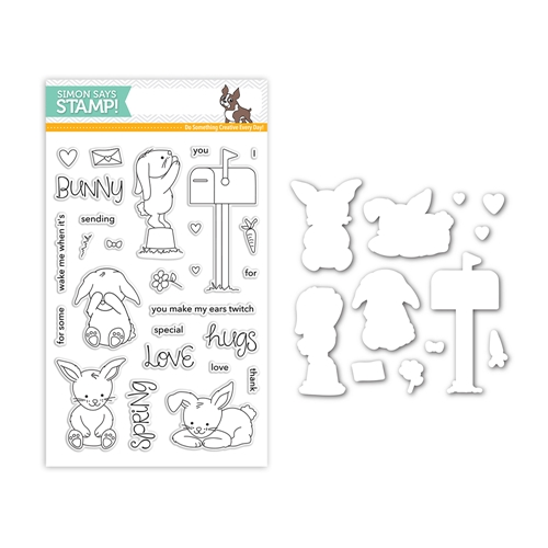 Simon Says Stamps And Dies SOME BUNNY SPECIAL Set297SS Mothers Fathers Florals Preview Image