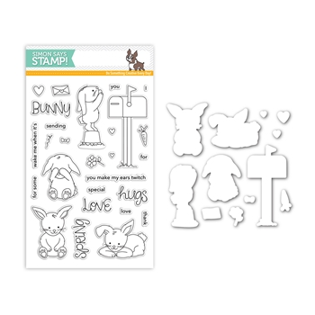 Simon Says Stamps And Dies SOME BUNNY SPECIAL Set297SS Mothers Fathers Florals