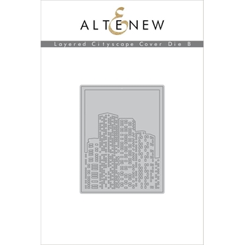 Altenew LAYERED CITYSCAPE COVER DIE B