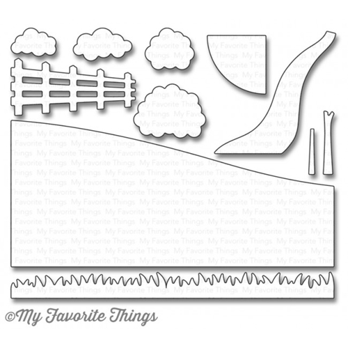 My Favorite Things SPRING SCENE BUILDER Die-Namics MFT1095 Preview Image