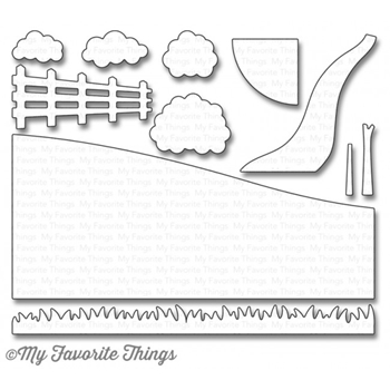 My Favorite Things SPRING SCENE BUILDER Die-Namics MFT1095