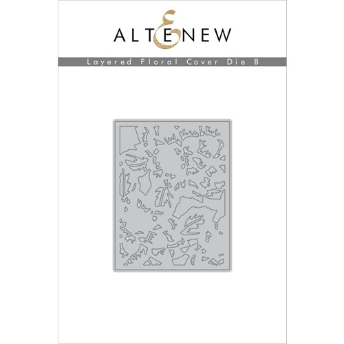 Altenew LAYERED FLORAL COVER DIE B ALT1592 Preview Image