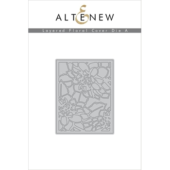 Altenew LAYERED FLORAL COVER DIE A ALT1591