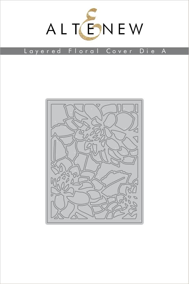 Altenew LAYERED FLORAL COVER DIE A ALT1591 zoom image