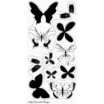 My Favorite Things BEAUTIFUL BUTTERFLIES Clear Stamps CS177