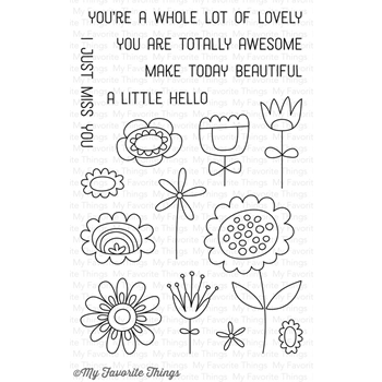 My Favorite Things SPRINGTIME BLOOMS Clear Stamps CS188