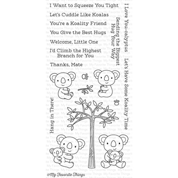 My Favorite Things CUDDLY KOALAS Clear Stamps CS196
