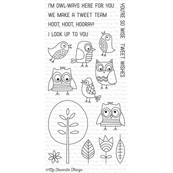 My Favorite Things TWEET WISHES Clear Stamps CS195
